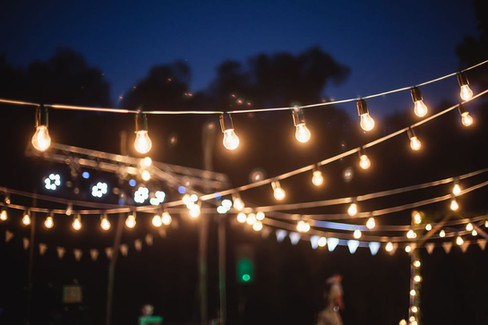 Wedding-party-festoon-lighting-ambience