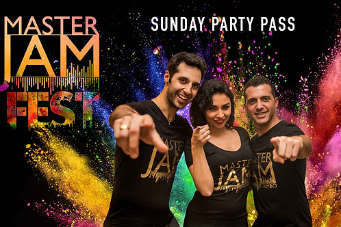 Sunday Party Pass (Includes Shows)