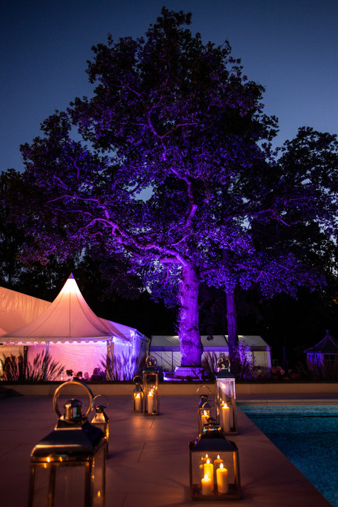 marquee-party-private-lighting-candles-romance