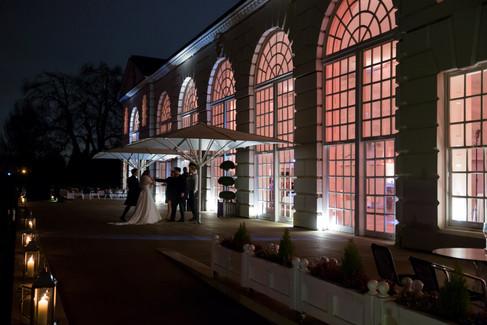 KewGardens-TheOrangery-Wedding-night