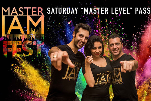 """Saturday """"Master Level"""" Pass"""