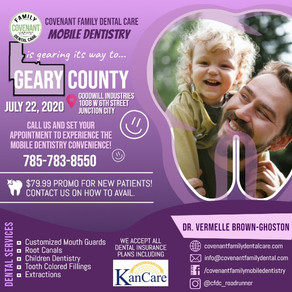 Mobile Dental Clinic in Junction City, Geary County, KS