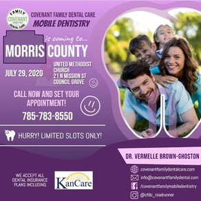 Mobile Dental Clinic in Council Grove, Morris County, KS