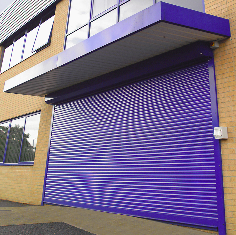Roller-shutter-powder-coated