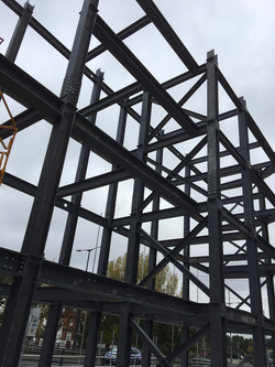 Steel Frame for office in london