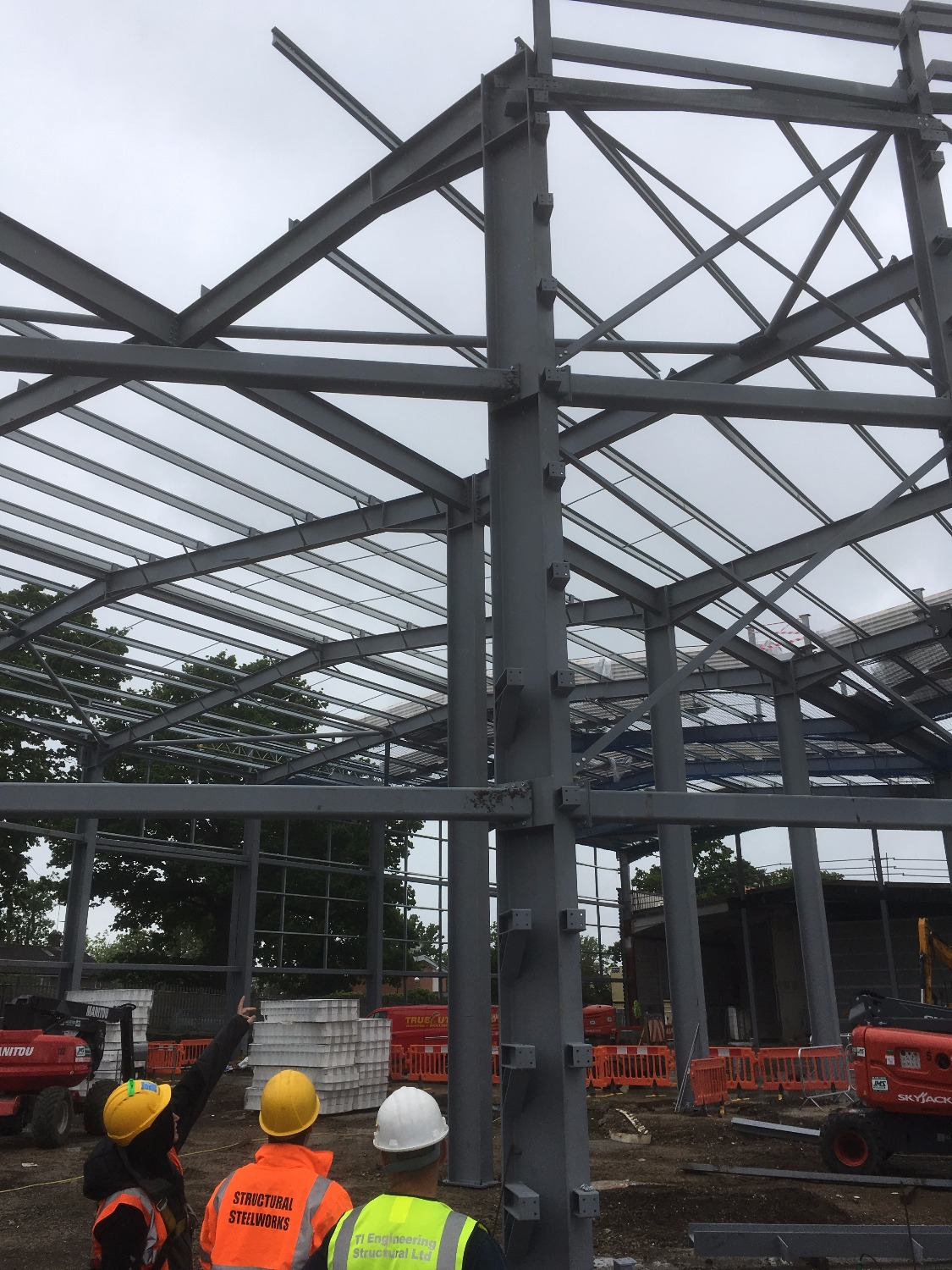 Steel Frame for office in london