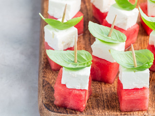 Hellim Watermelon Bites