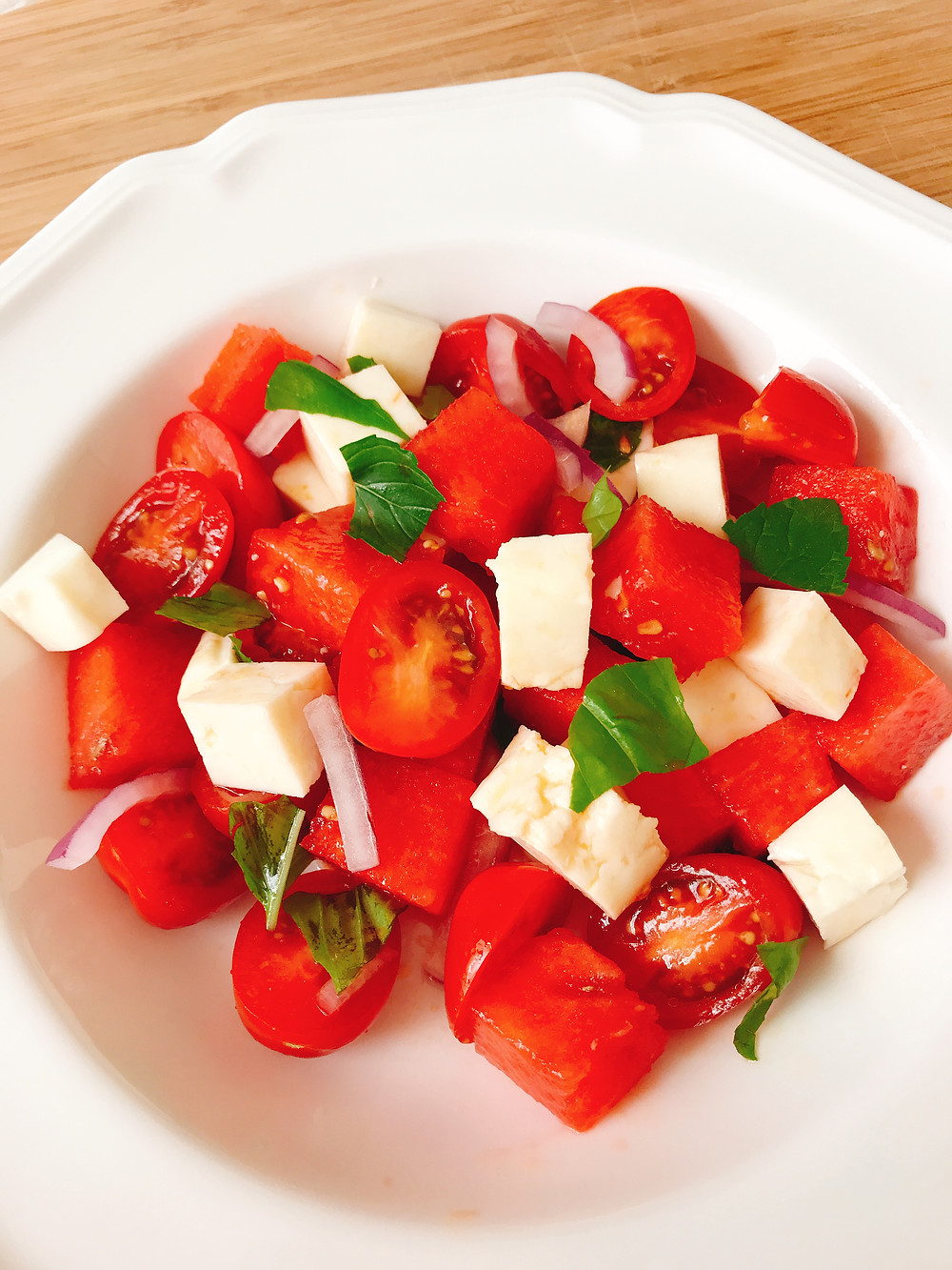 Hellim Watermelon Tomato Salad