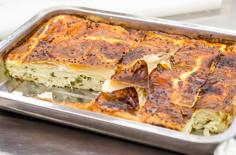 spinach pie  ispinakli borek