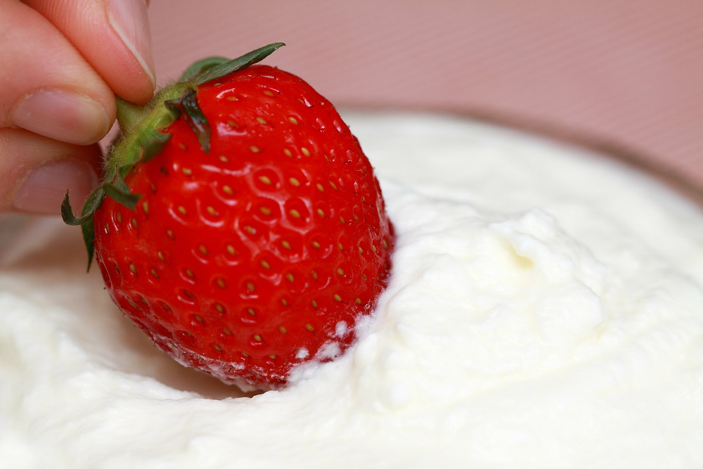 Ricotta Fruit Dip, Strawberry Dip