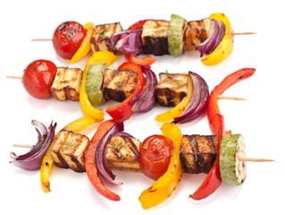 Hellim Veggie Kebabs