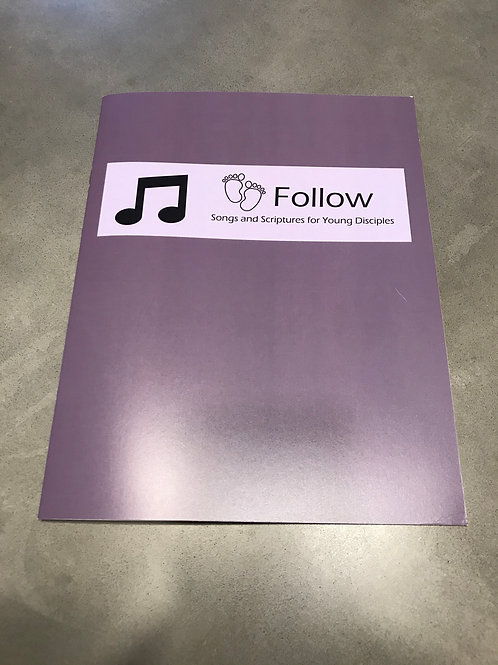 Follow Song and Scripture Book Mini Ministry Pack