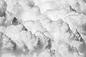 Flauschige Wolken