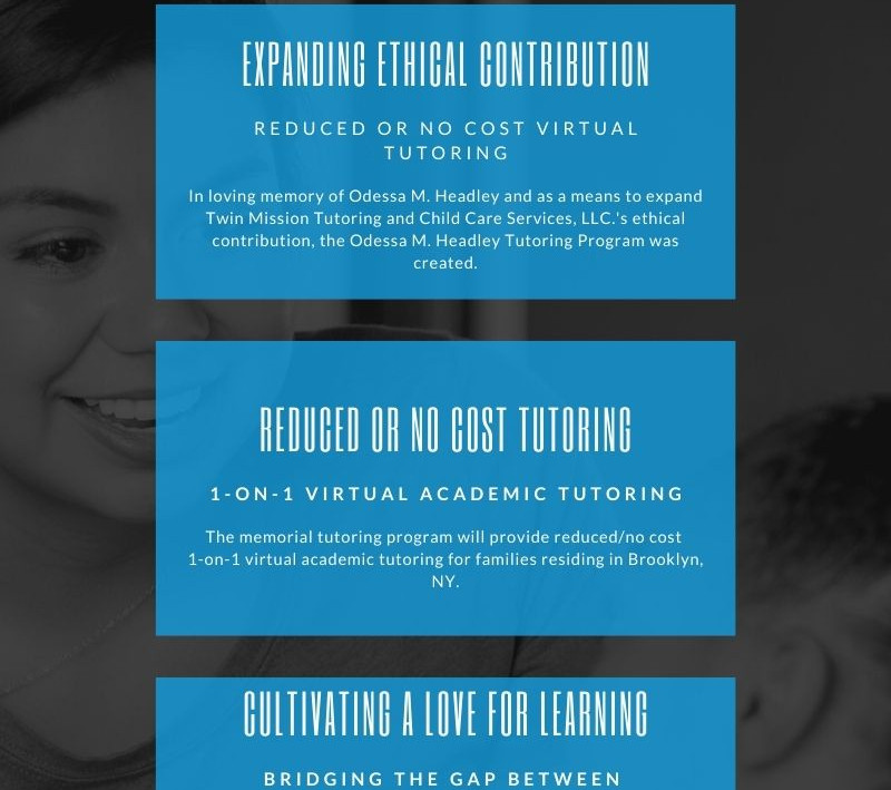 OMHM Tutoring Program Infographic