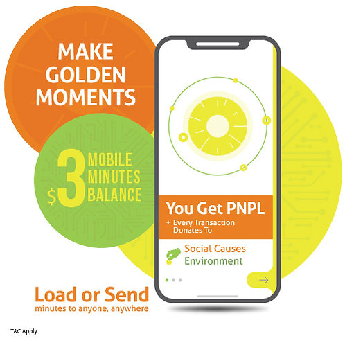 $3 prepaid minutes + PNPL points