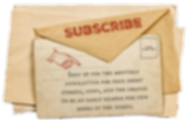 Envelope with text