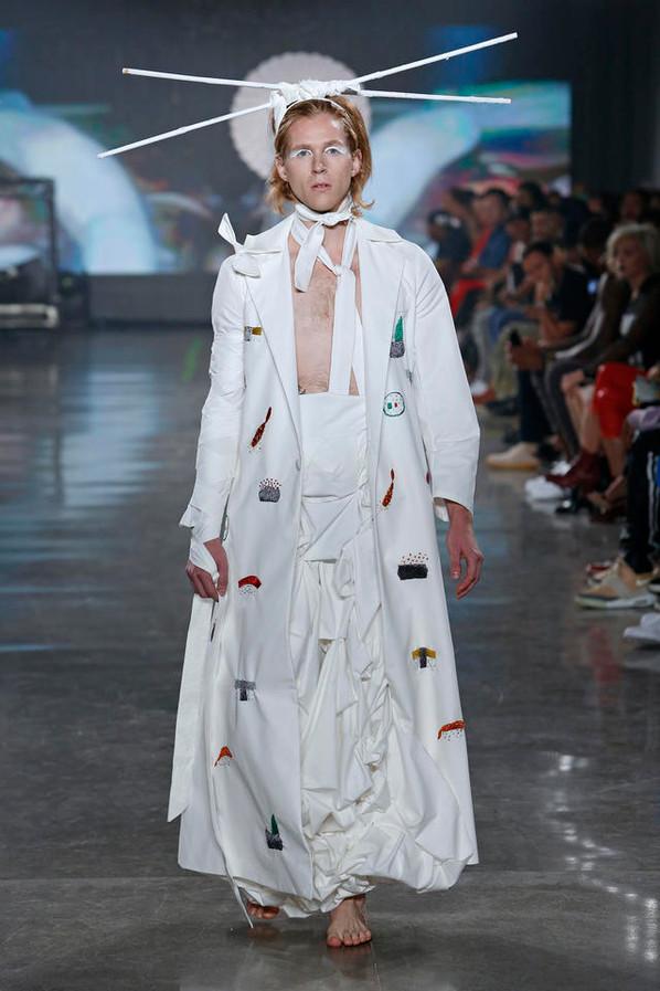 VFILES Runway 7: Alessandro Trincone at New York Fashion Week SS17