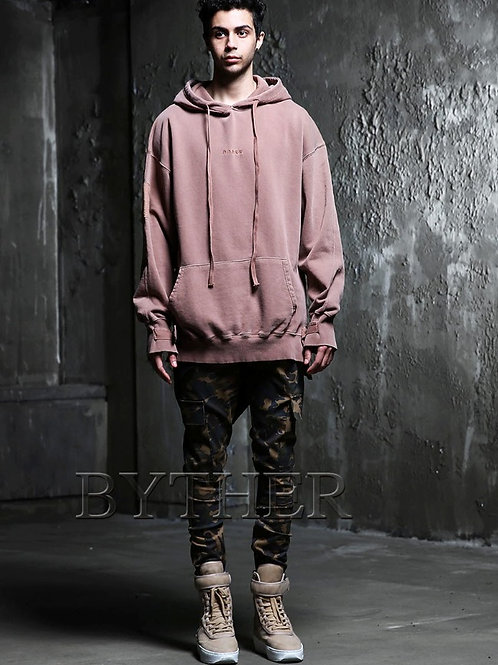 BYTHER Pigment Buckle Hoody