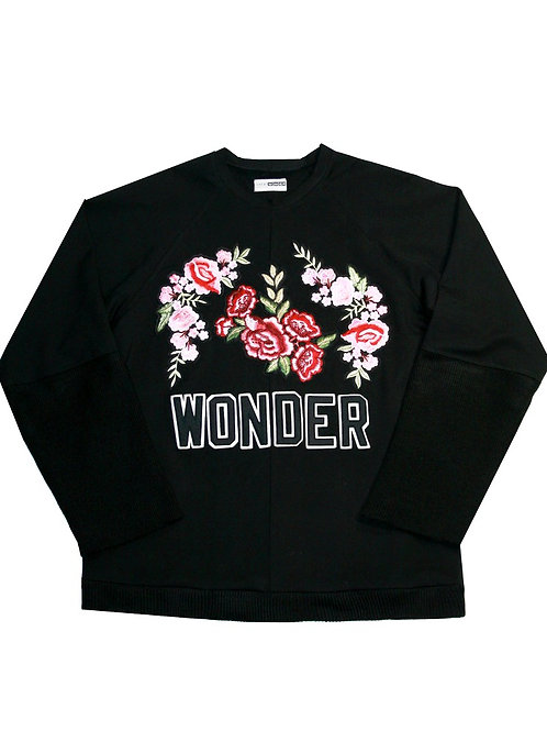 FLORAL SWEATSHIRT by SERGIO WONDER