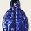 Thumbnail: Letter Graphic Hooded Puffer Coat from Romwe