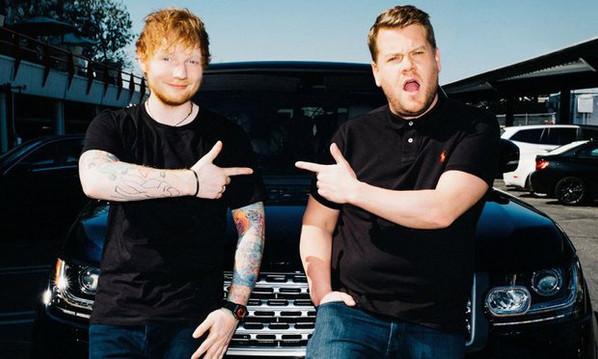 Ed Sheeran & James, Corden Carpool Karaoke!