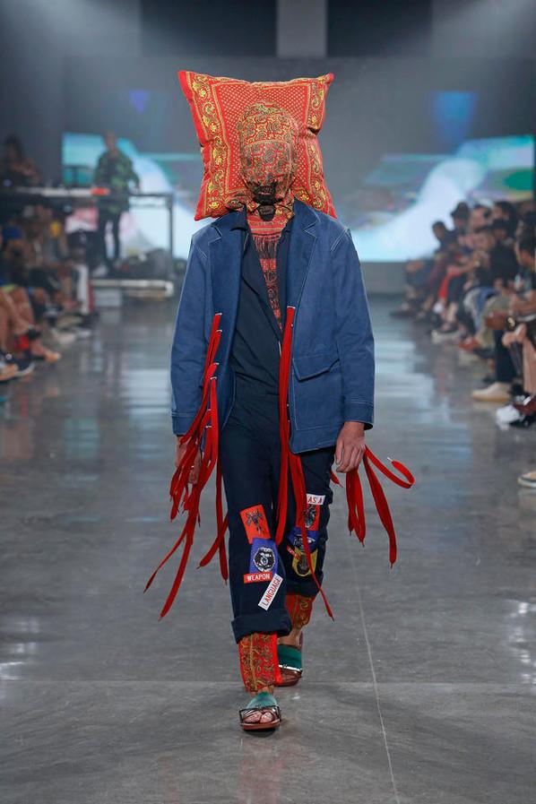 VFILES Runway 7: SANCHEZ-KANE at New York Fashion Week SS17