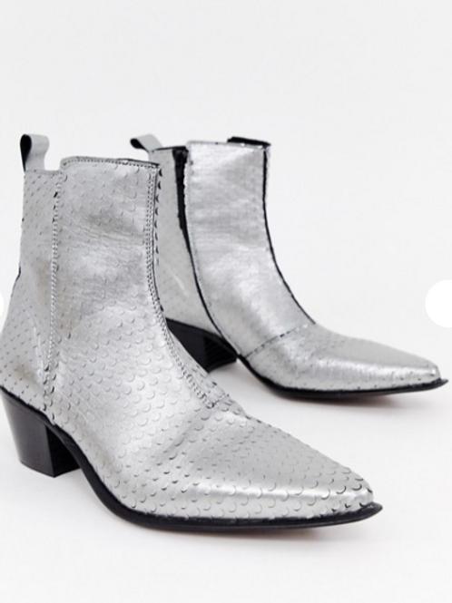 ASOS DESIGN Wide Fit Chelsea Boots