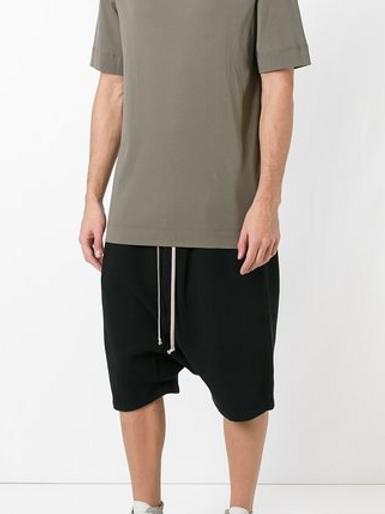 DRKSHDW Drop Crotch Shorts by RICK OWENS