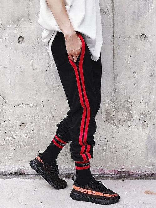 Striped Jogger Pants by BJORN