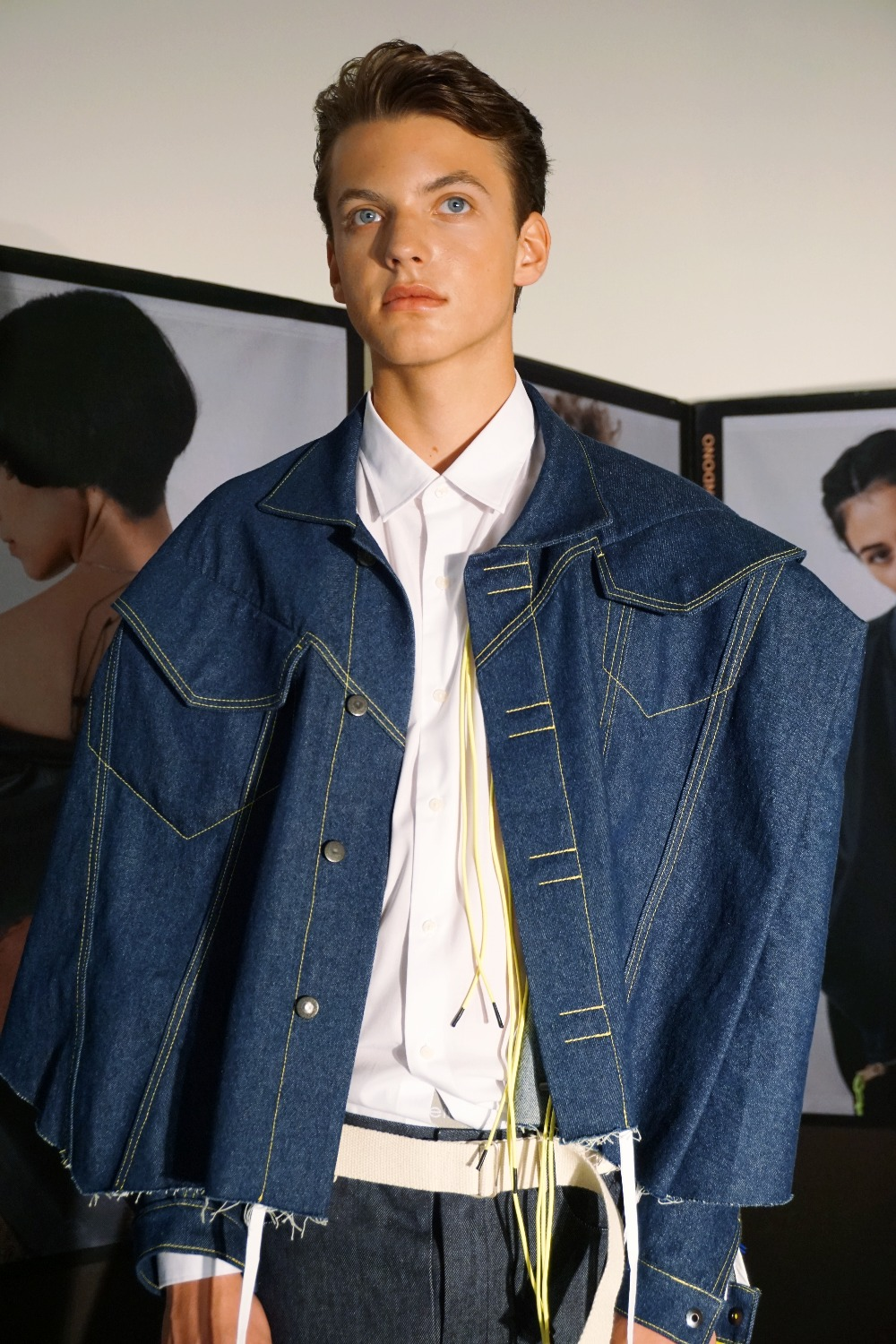 Wearing this is Sweden SS19