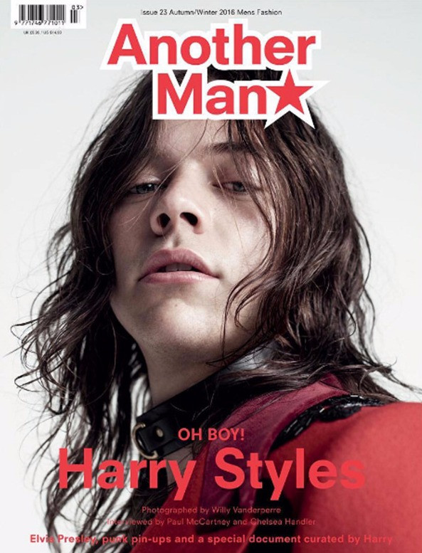 Harry Styles Channels Mick Jagger for 1 of 3 Covers for British Fashion Mag, Another Man!