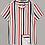 Thumbnail: Revere Collar Striped Shirt