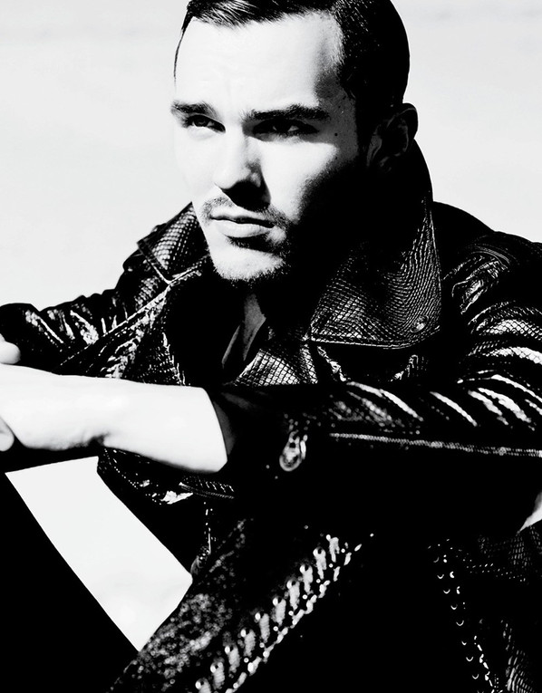 Remembering Nicholas Hoult from the pages of VMAN 31