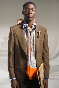 Wearing David Hart SS19 Collection
