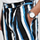 Thumbnail: ASOS DESIGN Tall Wide Balloon Pants (All Over Stripe)