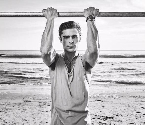Zac Efron  covers Men's Fitness!