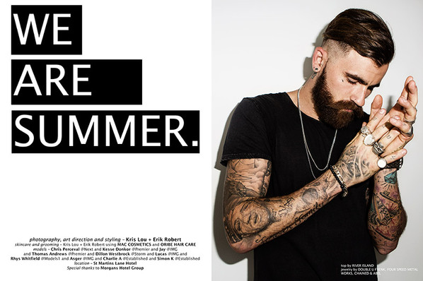 'We Are Summer' by Adriano B for F.Y.
