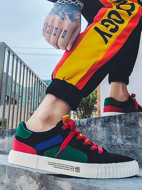 Solejoy Canvas Color Block Sneakers