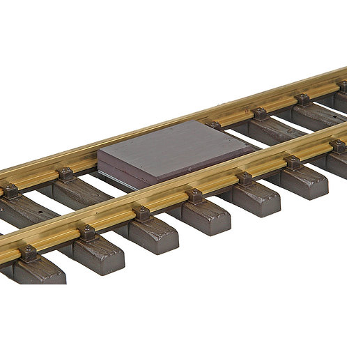 #842 1 & G Scale Between-the-Rails Delayed-Action Magnetic Uncoupler - (Unmounte
