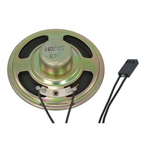 "Round Speaker 8 Ohm 1W 320 to 5000 Hz 88dB 2.5"" Diameter"