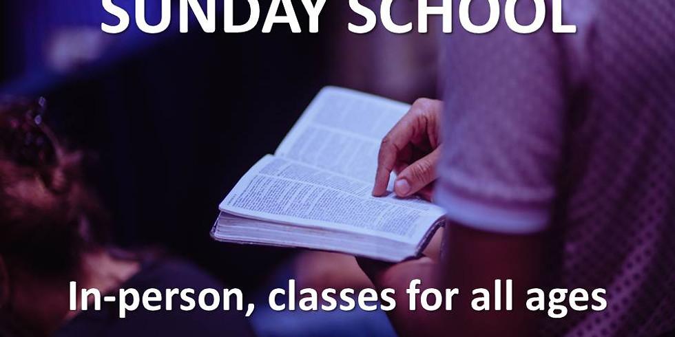 Sunday School (In Person)