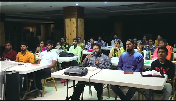 Training Church Planters in India Online