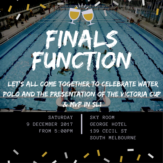 Water Polo Finals Function
