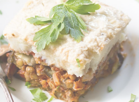 Vegan Moussaka with Lentils