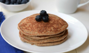 Have a go at healthy protein pancakes this year!