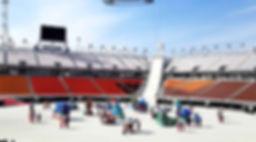 평창올림픽 공기조형물 연출조형물 에어바이블