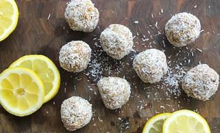 Lemon Coconut Bites