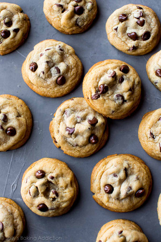 Protein-Packed GF Chocolate Chip Cookies