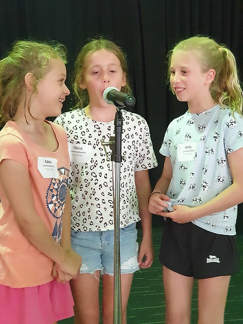 1 Day Musical Theatre CATS Workshop - ages 8 to 15