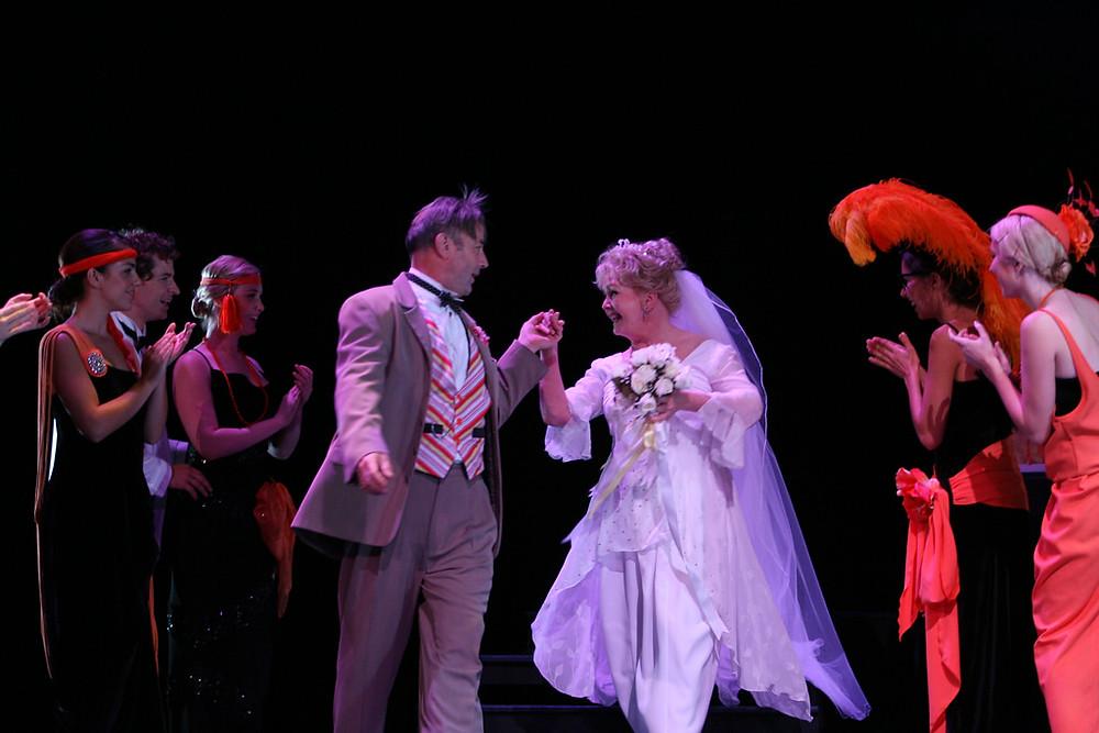 Ian Toyne, Debbie Reynolds, musical theatre, performers, perth theatre, perth actors, theatre, musicals, performing arts